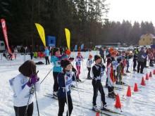 Zdjęcie z biegu narciarskiego