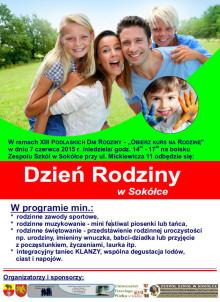 Plakat Dzień Rodziny