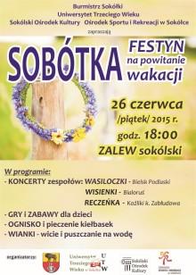 Plakat z programem