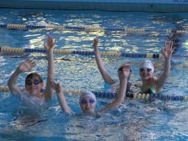 Zawody pływackie - charytatywne