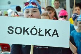 Zawody pływackie w Bielski Podlaskim