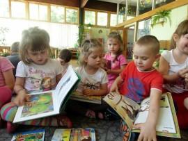 Przedszkolaki w książkowej podróży