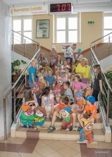 Dzieciaki odwiedziły Panią Burmistrz