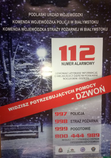 Zadzwoń pod 112
