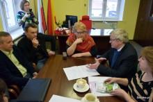 Spotkanie z delegacją z Białorusi