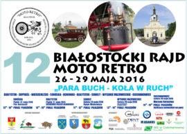 Plakat Rajdu Moto - Retro 2016