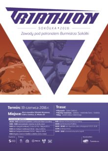 Plakat Triatlon 2016