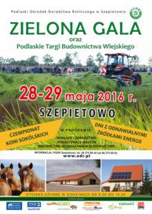 Plakat Zielona Gala