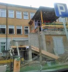 Remont budynku przedszkola