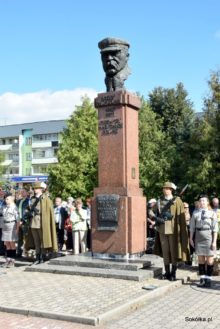 Pomnik Piłsudskiego w Sokółce
