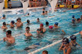 Pływacy w Augustowie