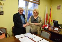 Podpisanie porizumienia między Sokółką a Grodnem