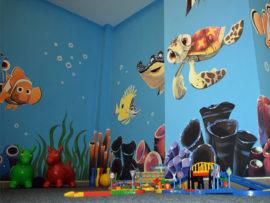 Podwodna sala zabaw