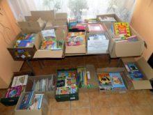 Zbiórka książek dla szpitala