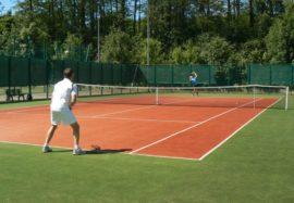 Tenis ziemny na kortach w Sokółce
