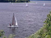 Na jeziorze Rajgrodzkim