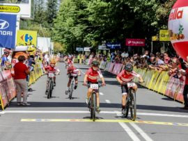 Na mecie Mini Tour de Pologne