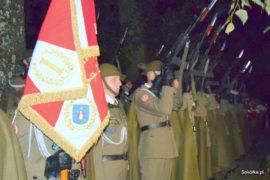 delegacja 1 Batalionu Strzelców Podhalańskich