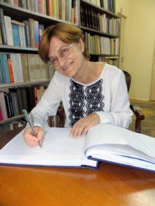 Mariola Pryzwan była gościem w Bibliotece Publicznej w Sokółce