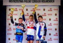 Nikola Gliniecka na podium