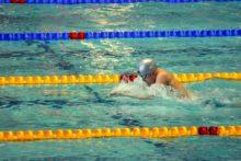 Zawody pływackie w Olsztynie
