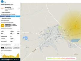 Monitorowanie jakości powietrza w Sokółce