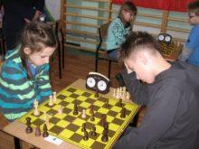 Szachiści w Danówku
