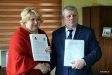 Burmistrz Sokółki i Mer Grodna