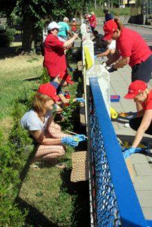 Malowanie ogrodzenia