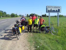 Seniorzy rowerami po Białorusi
