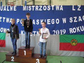 Szachiści na podium