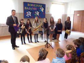 Uczniowie Samorządowej Szkoły Muzycznej