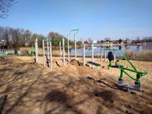 Modernizacja terenu nad zalewem