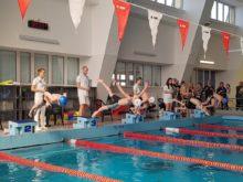 Zawody pływackie w Biał;ymstoku