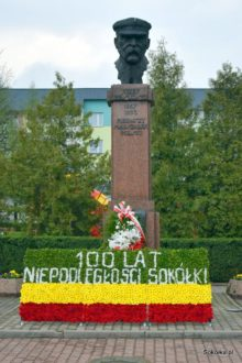Pomnik Marszałka w Sokółce
