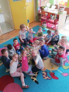 Dzieci z przedszkola nr 2