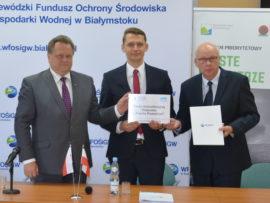 Gminę Sokółka reprezentował Pełnomocnik Burmistrza Pan Antonii Stefanowicz