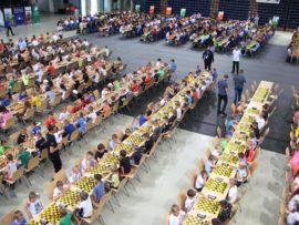 Setki szachownic i szachistów