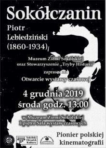 Plakat zapraszajacy na otwarcie wystawy