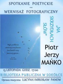 Plakat z zaproszeniem