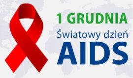 Plakat AIDS 1 grudnia
