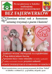 Plakat z informacją