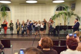 Na zdjęciu występ uczniów SSM