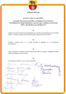 Podpisane porozumienie