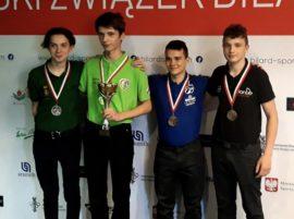 Szymon Miroń stanął na podium zdobywając brązowy medal