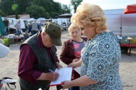 Zbieranie podpisów pod petycją w sprawie obniżenia opłat za odpady
