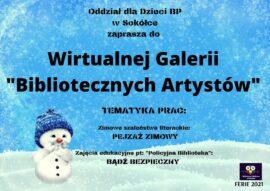 """Wirtualna galeria """"Bibliotecznych Artystów"""""""