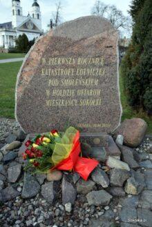 Pomnik upamiętniający katastrofę smoleńską